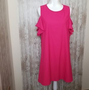 Unbranded Casual Mini Dress Size Large Ruffles
